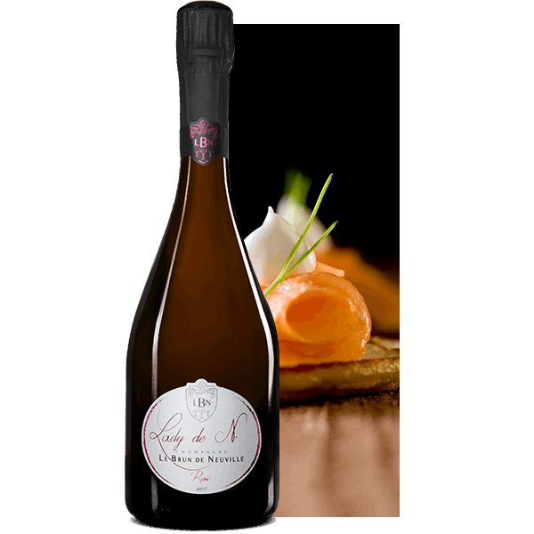 Champagne Rosé Le Brun de Neuville - Champagne Médaillé