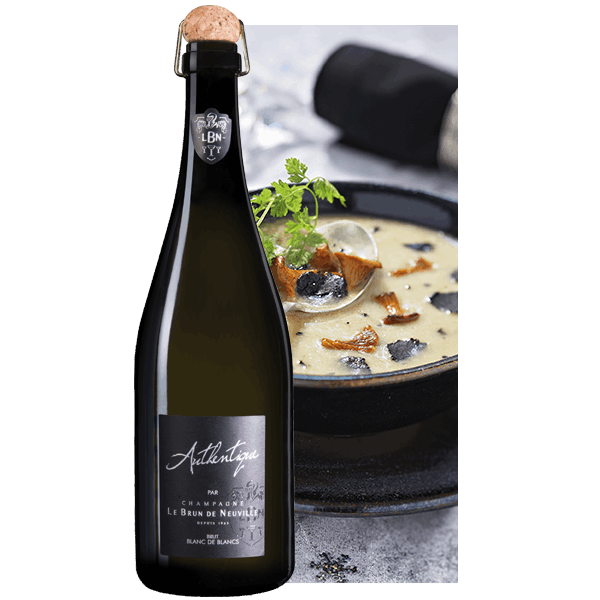 Champagne Le Brun de Neuville Cuvée Authentique Blanc de Blancs
