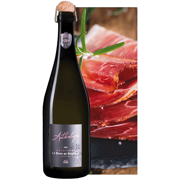 Champagne Le Brun de Neuville Cuvée Authentique Rosé