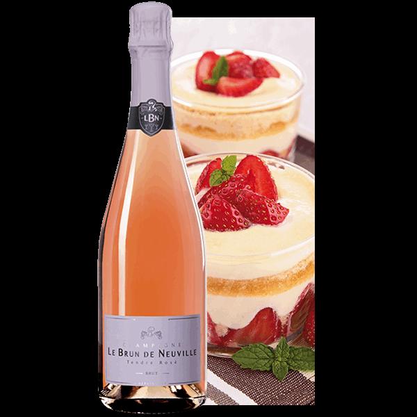 Tendre Rosé Champagne Le Brun de Neuville